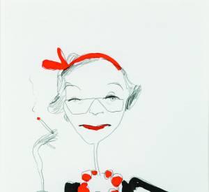 Portrait de Marie Rucki par Antonio Pippoloni