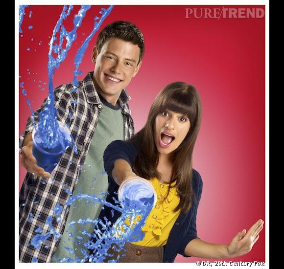 Cory Monteith et Lea Michele, le couple emblématique de Glee.