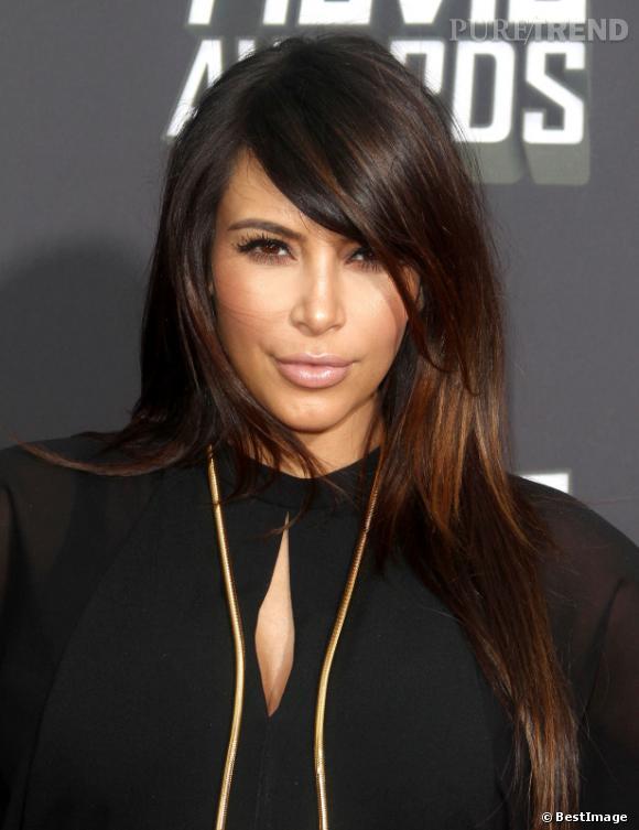 Kim Kardashian pendant sa grossesse.