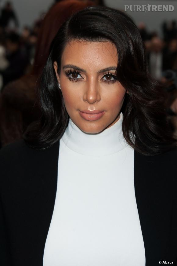Au tout début de l'année 2013, Kim Kardashian est déjà un peu bouffie.