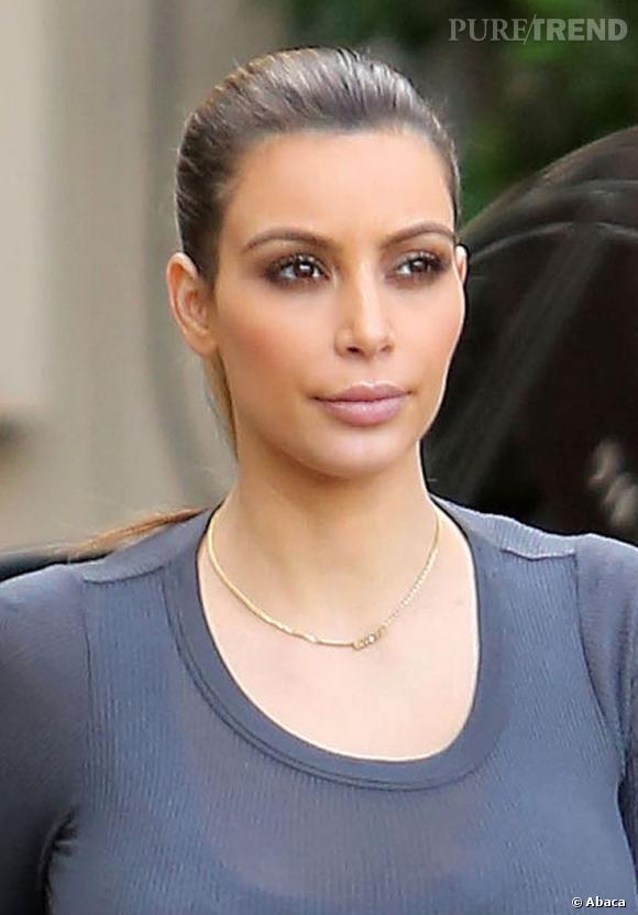 Kim Kardashian et son visage d'aujourd'hui... Plus grand chose à voir avec ses photos de 2006.