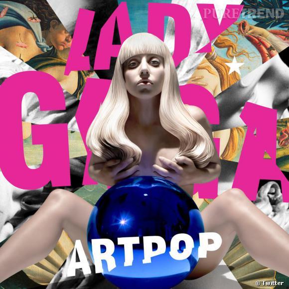 Lady Gaga a dévoilé la pochette de son album ARTPOP réalisée par Jeff Koons.