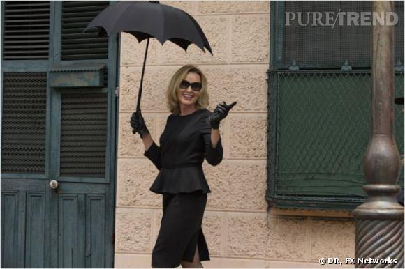 """American Horror Story"" saison 3 :     L'actrice :  Jessica Lange.    Son rôle :  Fiona Goode."