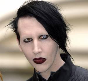Marilyn Manson ne se montre jamais sans make-up.