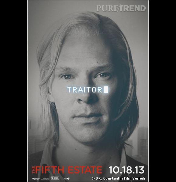 """Benedict Cumberbatch incarne Julian Assange dans """"Le Cinquième pouvoir""""."""