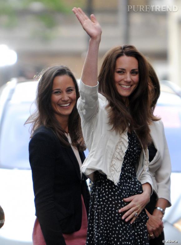 Pippa et Kate Middleton, des soeurs chic et glam.