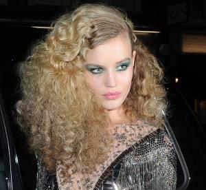 Georgia May Jagger aux 180 ans Rimmel : focus sur son maquillage de disco queen