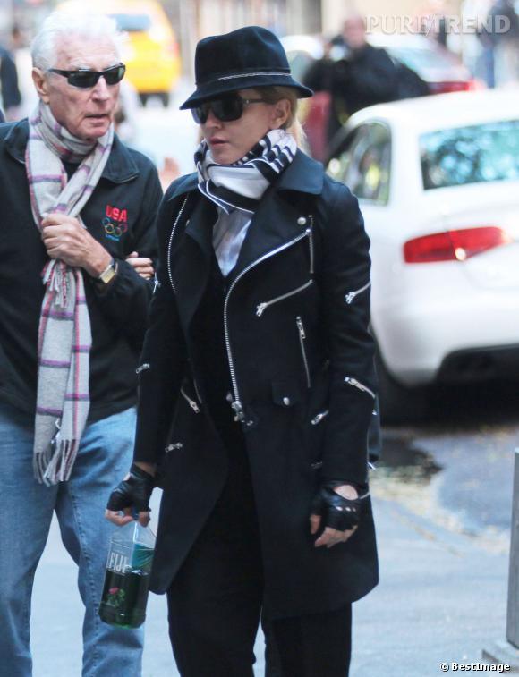 Madonna, look incognito raté dans les rues de New York.