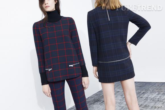 Tendance carreaux, le shopping : lookbook Zara