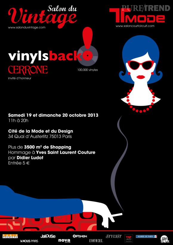 Salon du vintage le 19 et 20 octobre la cit de la mode for Salon du design paris