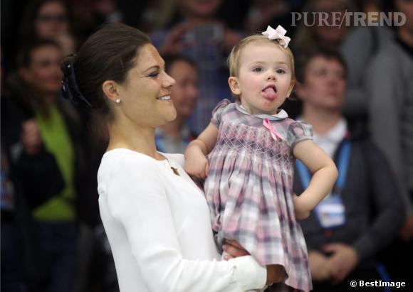 Ce fut un week-end sportif pour la famille royale de Suède, qui assistait à la finale de tennis de l'open de Stockholm, dimanche 20 octobre.