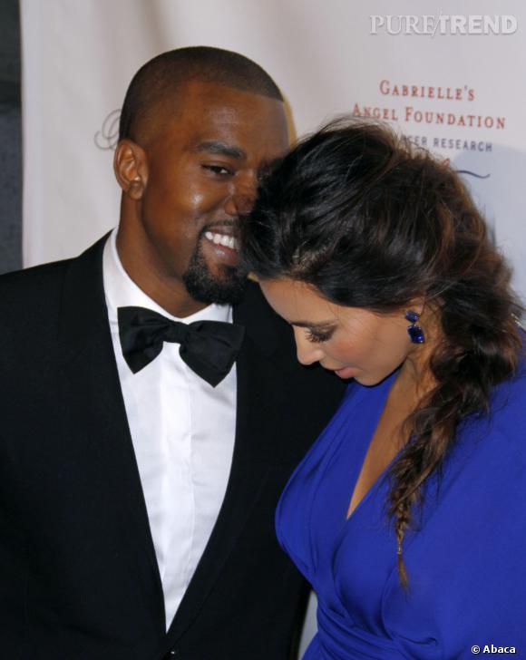 Kim Kardashian et Kanye West sont fiancés selon le site E!
