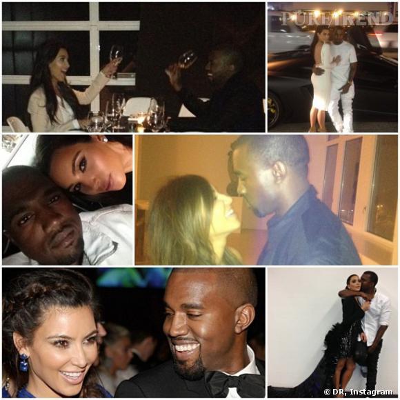"""Kim Kardashian dit de Kanye West qu'il est son """"meilleur ami""""."""