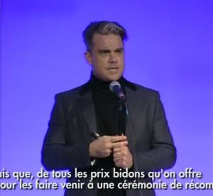 Q Awards 2013 : Robbie Williams, grand gagnant aux cotes d'Ellie Goulding