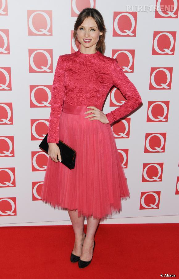 Sophie Ellis Bextor émue ce soir-là.