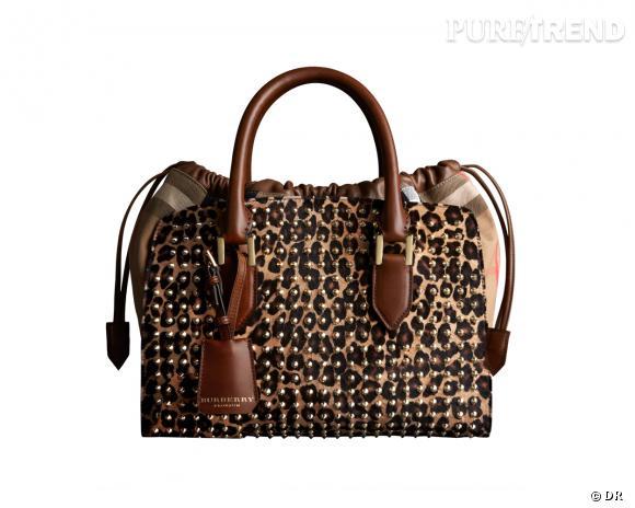 Shopping tendance animal print : sac Burberry Prorsum, 2195 €