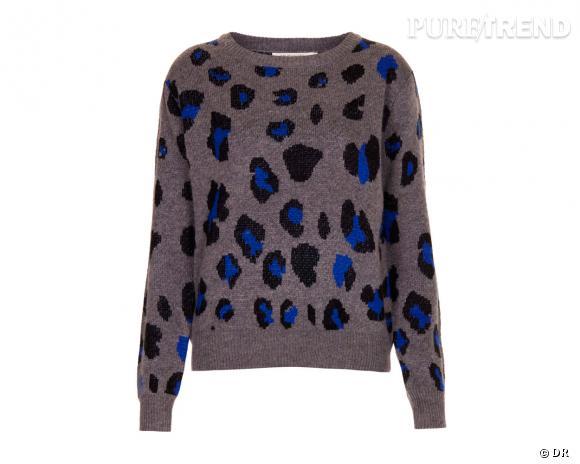 Shopping tendance animal print : pull Topshop, 65 €