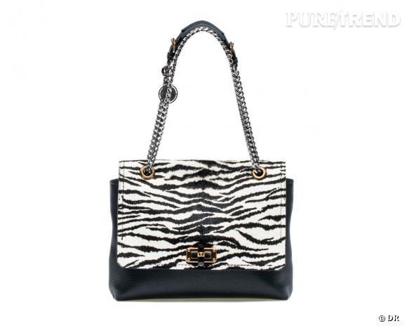Shopping tendance animal print : sac Lanvin, 1650 €