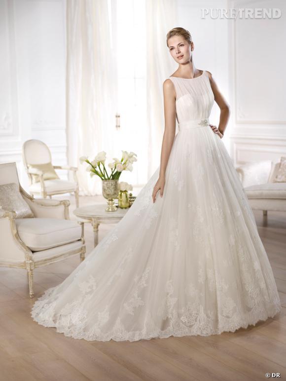 les plus belles robes de mari e 2014 pronovias collection 2014 mod le oceania puretrend. Black Bedroom Furniture Sets. Home Design Ideas