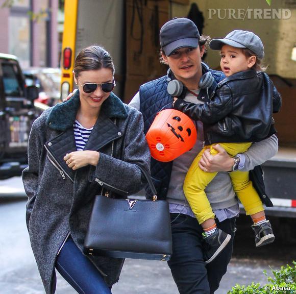 Orlando Bloom et Miranda Kerr continuent de faire des sorties en famille avec le petit Flynn.