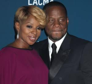 Mary J. Blige et son mari au gala du LACMA 2013.