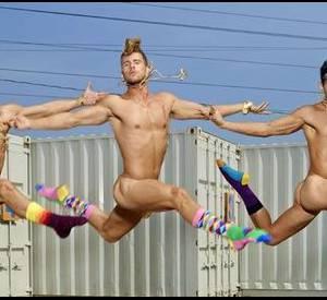 Campagne de publicité Happy Socks par David LaChapelle.