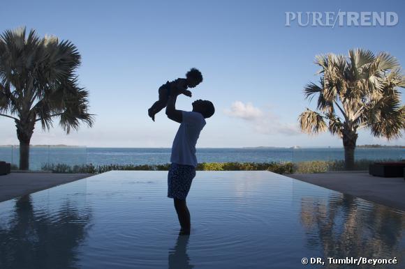 Des vacances de rêve pour Beyoncé, Jay-Z et leur bébé.