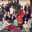 Le Noël familial d'H&M avec Christy Turlington et Doutzen Kroes.