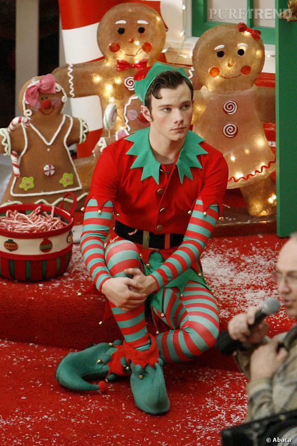 lutin pere noel Chris Colfer version lutin du Père Noël   Puretrend lutin pere noel