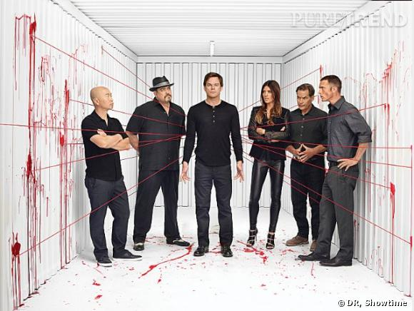 Dexter, une photo promo de la saison 8.