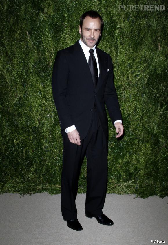 Tom Ford à la cérémonie des CFDA/Vogue Fashion Fund Awards 2013 de lundi soir dernier.