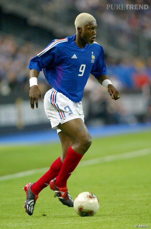 Djibril Cissé, adepte de la coloration (bouc compris).