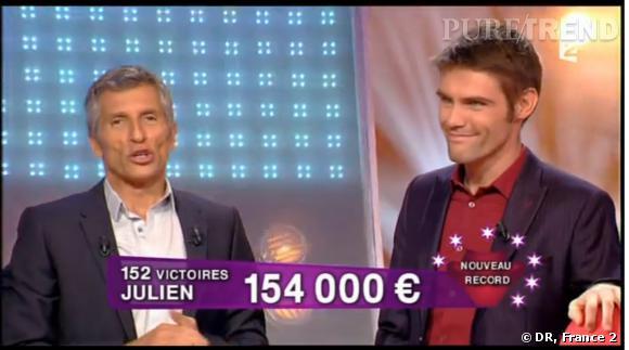 Julien Jean repart avec 154 000 euros.