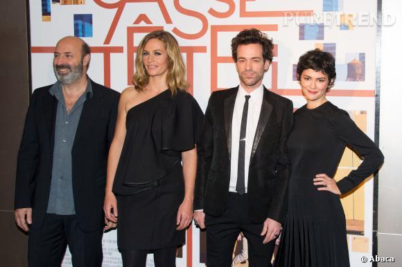 """L'équipe du film """"Casse-Tête Chinois""""."""
