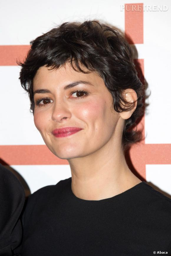 Audrey Tautou, toujours aussi craquante.