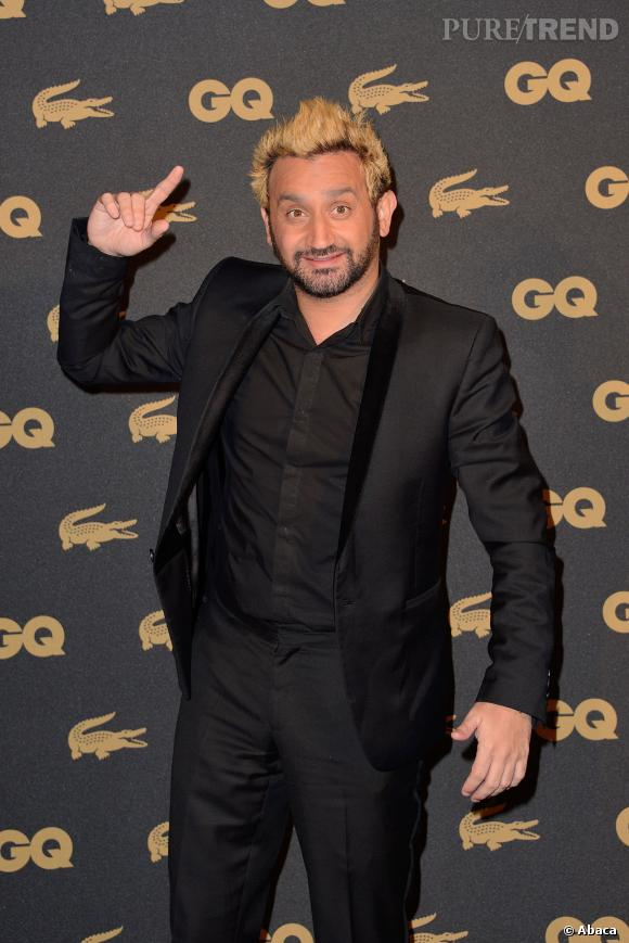 Cyril Hanouna a été élu animateur télé de l'année par le magazine GQ... Cela ne l'empêche pas de se plaindre de son salaire de seulement 25 000 euros par mois.