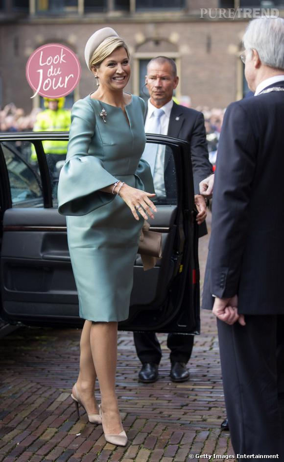 La Reine Maxima à la cérémonie de lancement des festivités des 200 ans du royaume des Pays-Bas.