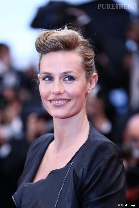 """Cécile de France au Festival de Cannes 2012 lors de la projection du film """"Thérèse Desqueroux""""."""