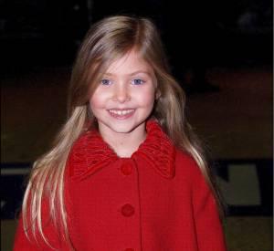 Taylor Momsen, un adorable petit chaperon rouge en 2000.