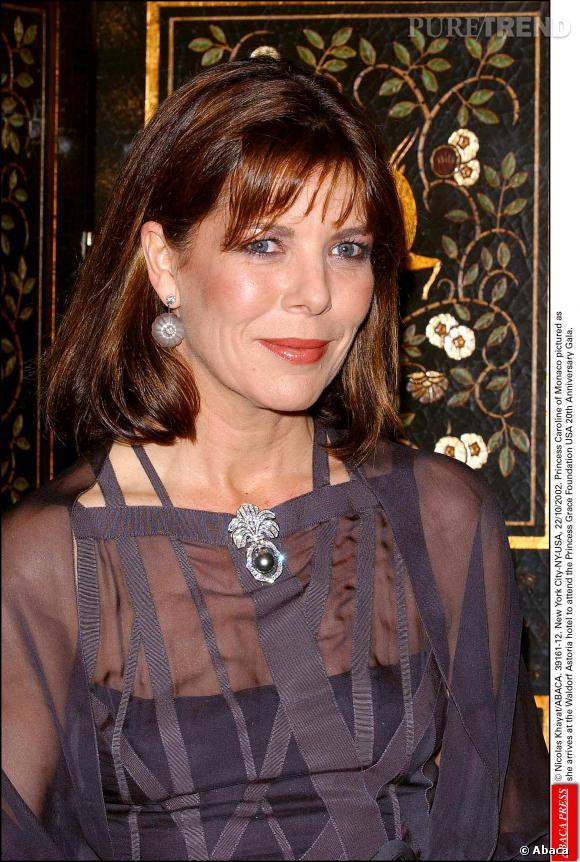 Caroline de Monaco, une grand-mère toujours aussi chic et glamour.