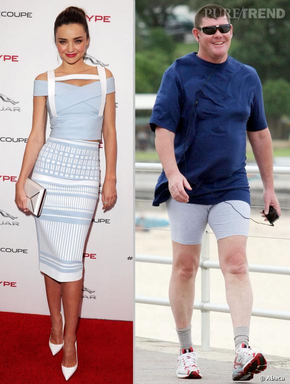 Miranda Kerr en couple avec le milliardaire James Packer ? On a vu couple mieux assorti.