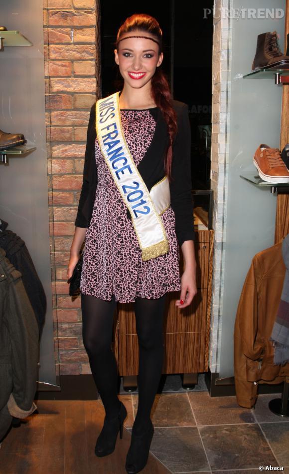 Delphine Wespiser, Miss France 2012 : 1m75.