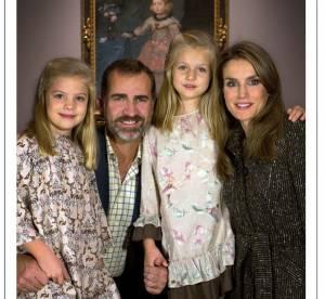 Letizia Ortiz : la Princesse en famille, une carte de Noël loin du protocole