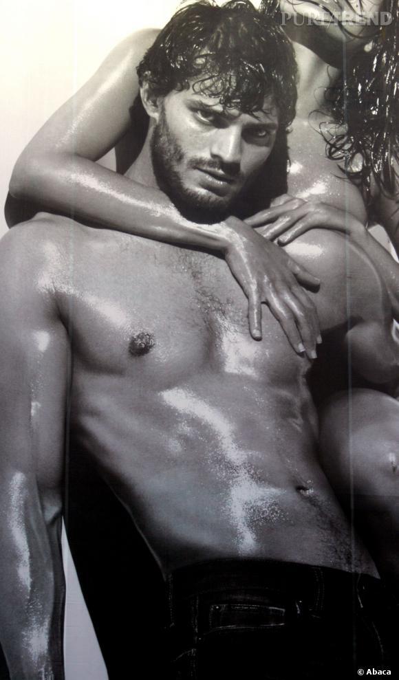 Jamie Durnan, mannequin pour Calvin Klein.