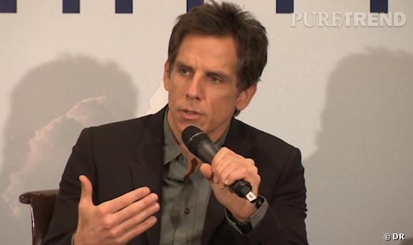 "Ben Stiller parle de son film ""La vie Rêvée de Walter Mitty""."