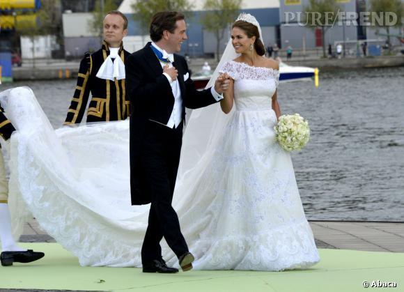 Madeleine de Suède et Chris O'Neill se sont mariés le 8 juin 2013.