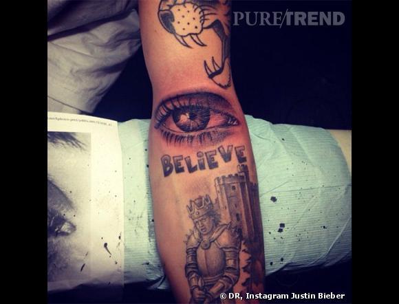 Justin Bieber A Opte Pour Un Oeil Au Creux Du Coude Puretrend