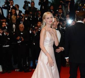 Carey Mulligan séduit Cannes en robe Dior Couture.