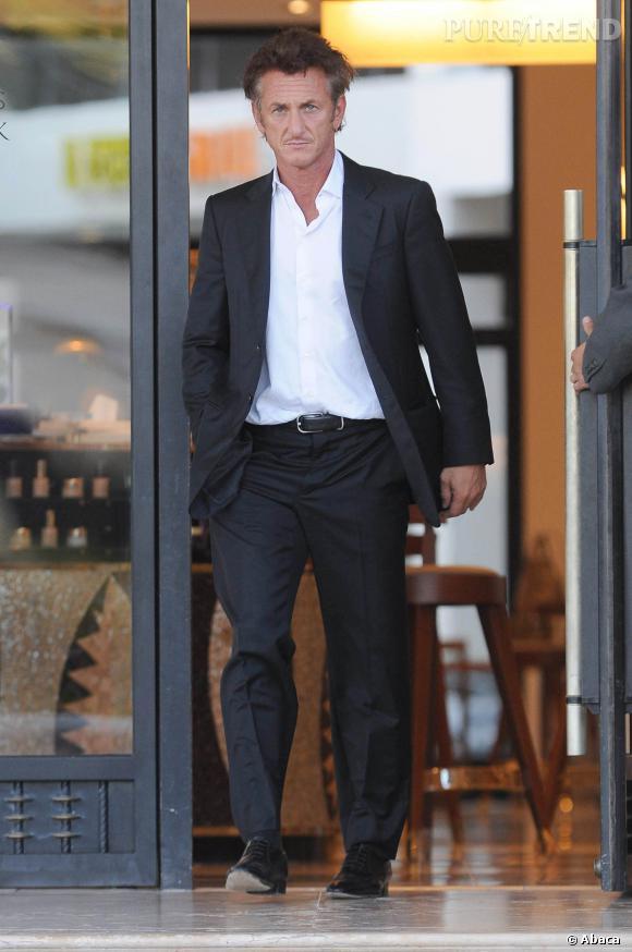 Sean Penn, un tombeur en costard.