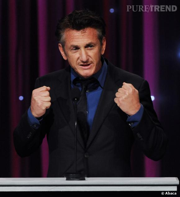 Sean Penn, humanitaire engagé.